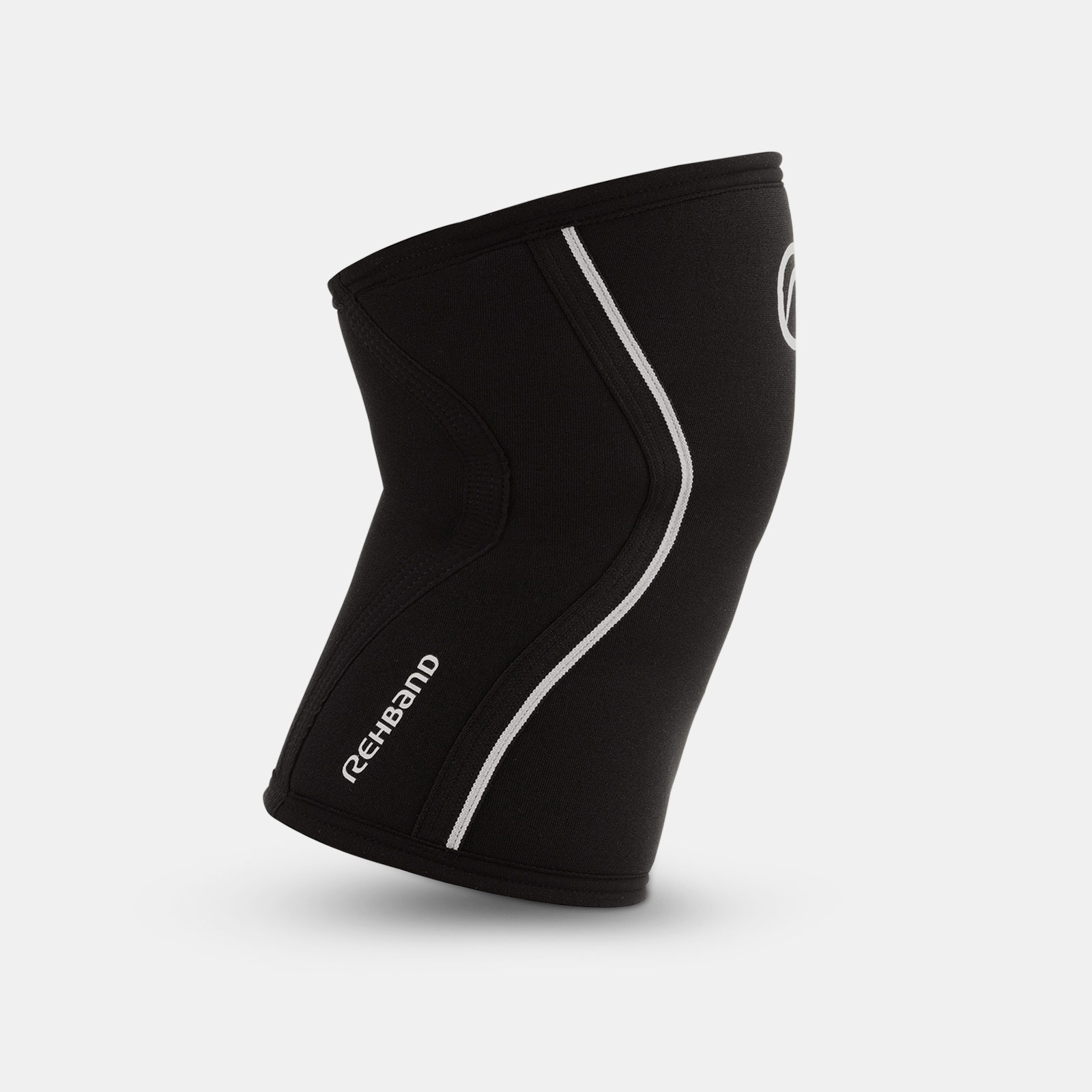 Rehband RX Knee Sleeve - 3mm Black/White image