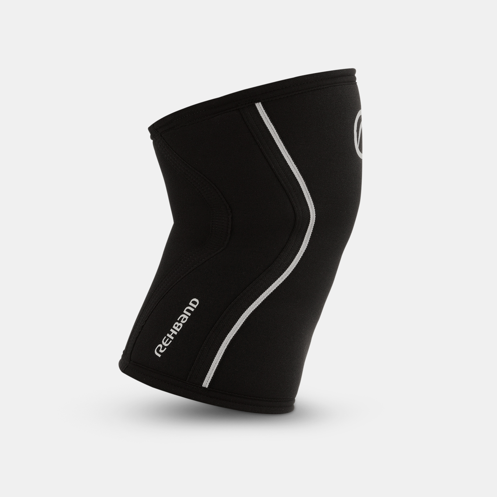 Rehband RX Knee Sleeve - 7mm Black/White image