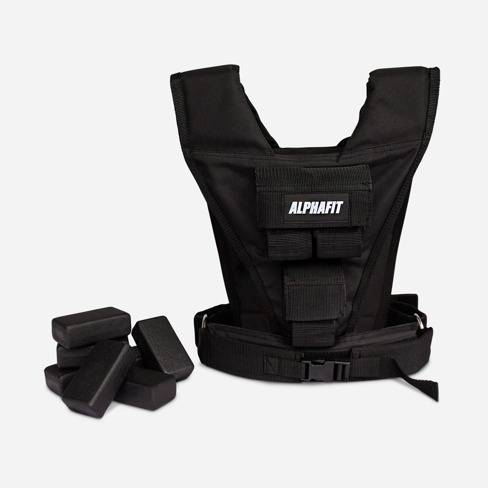 10kg Adjustable Weight Vest image