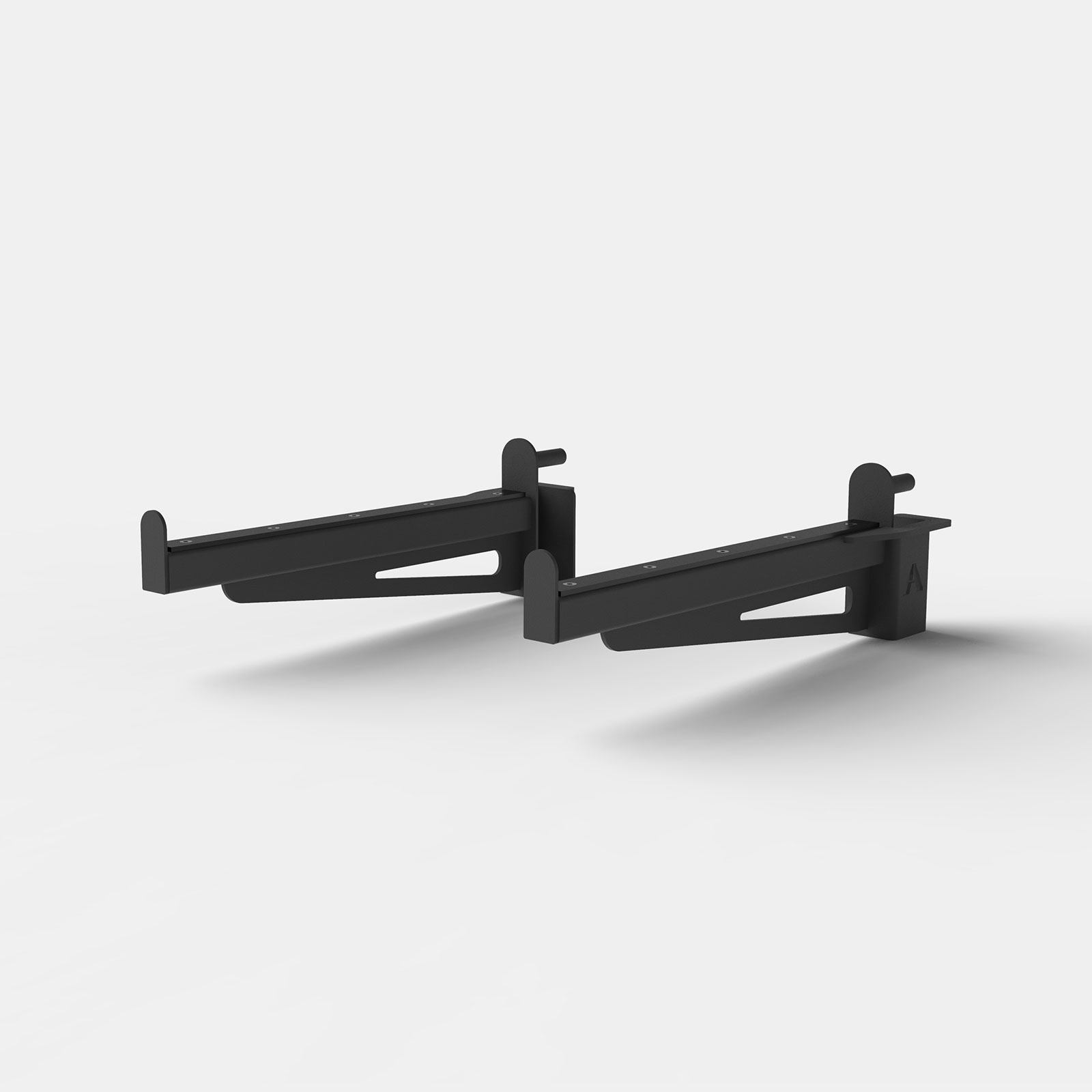 Spotter Arms Pair - Black image
