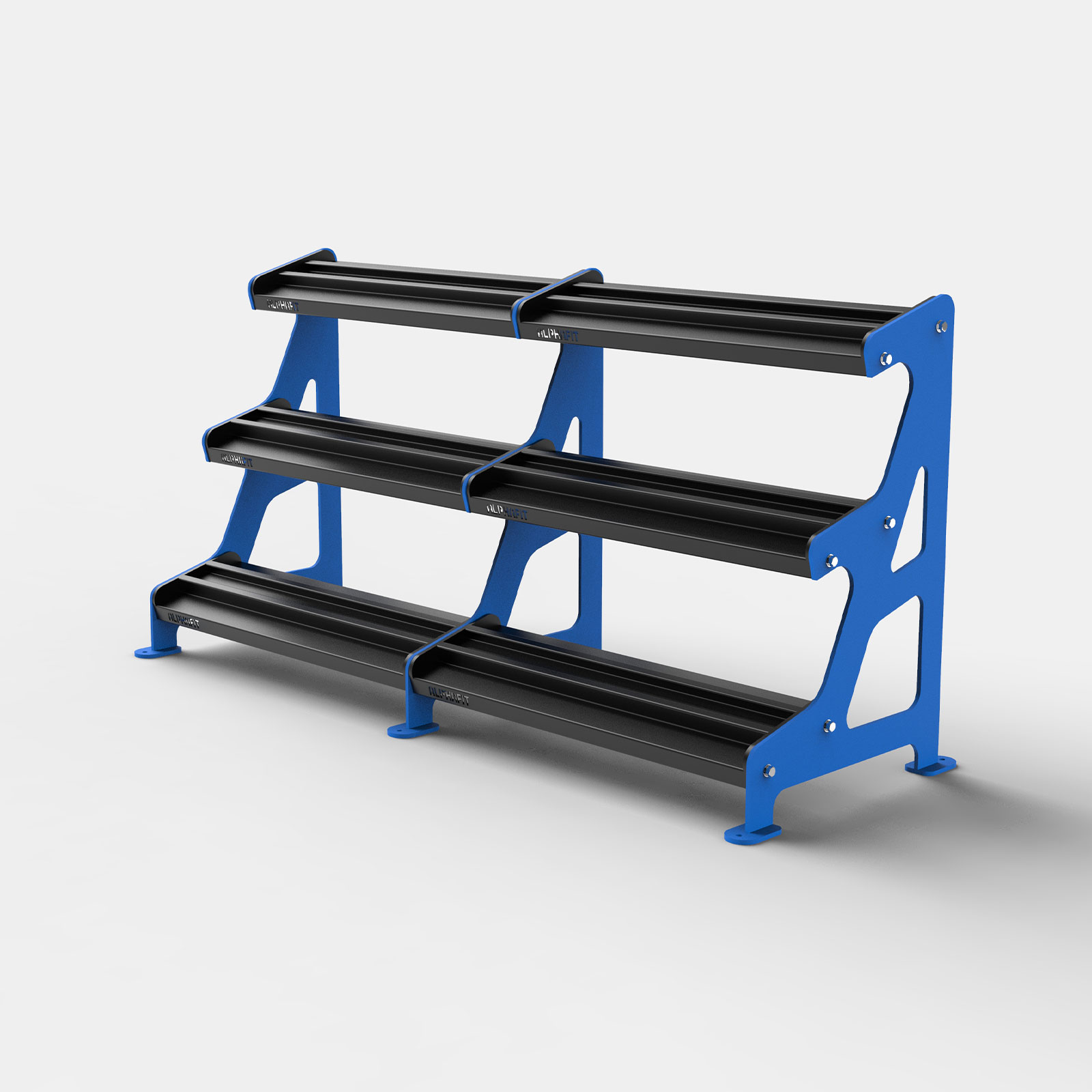 Hex Dumbbell Storage Rack 1000mm image