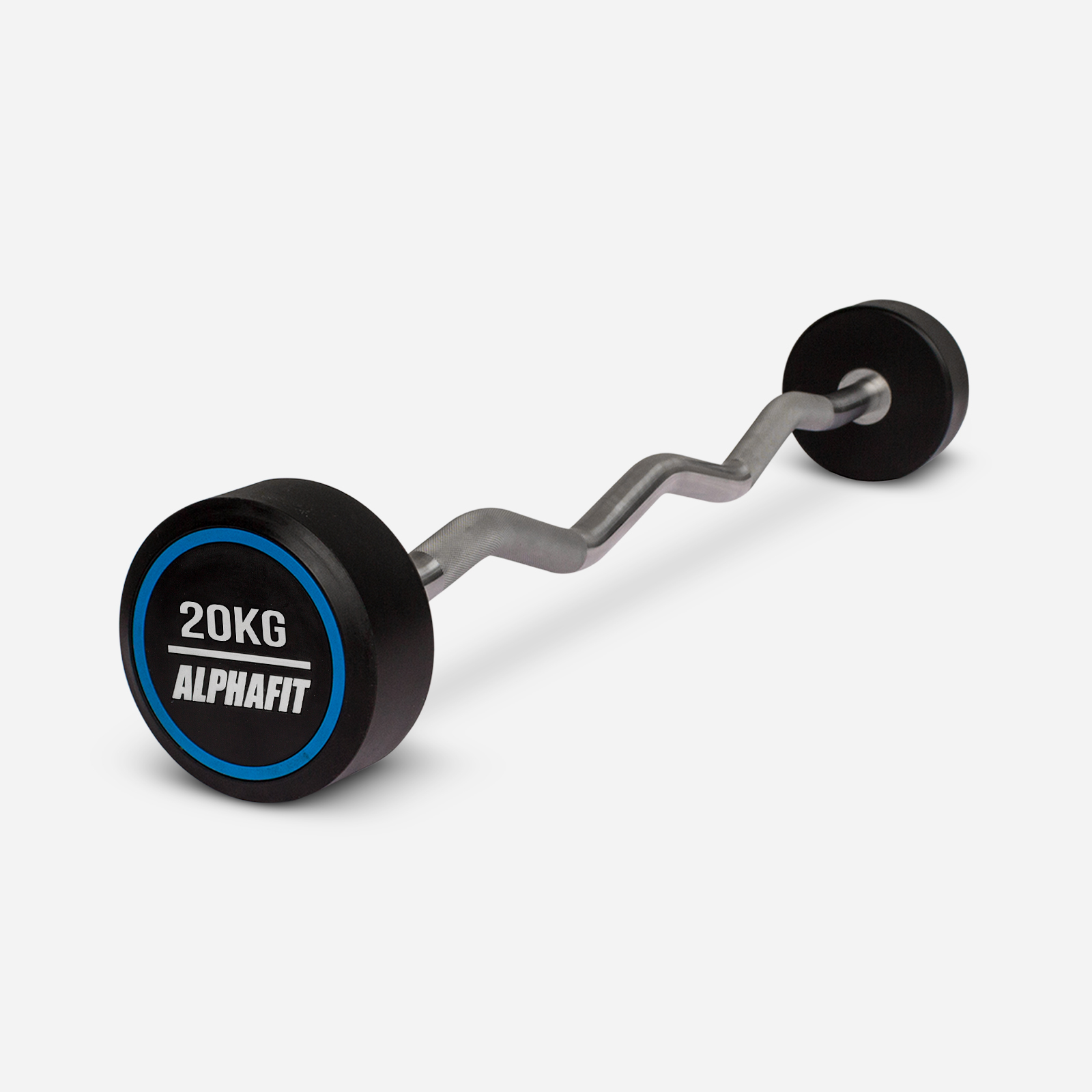 Clearance 20kg PU Fixed Curl Bar image