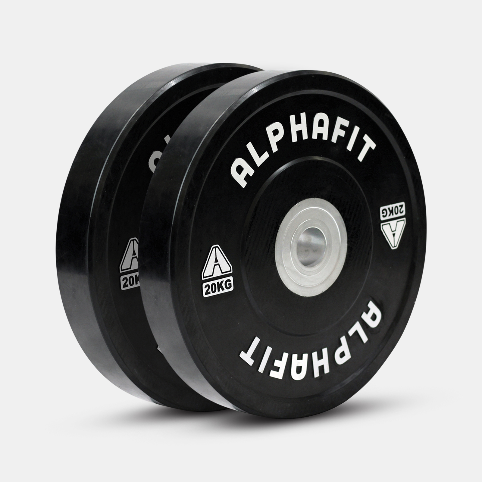 Endure Bumper Plates Black image