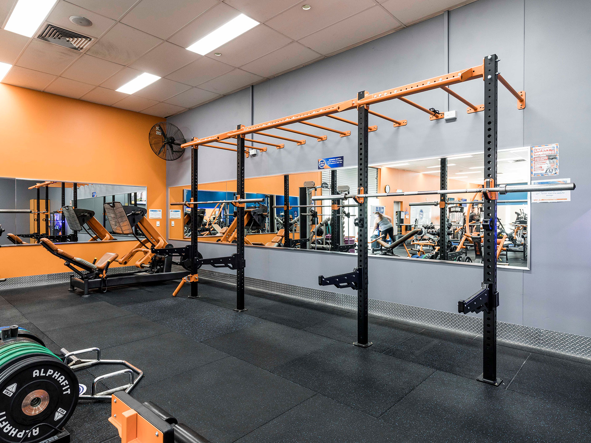 Plus Fitness Nerang Gym Fitout