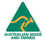 AlphaFit Australian Made and Owned logo