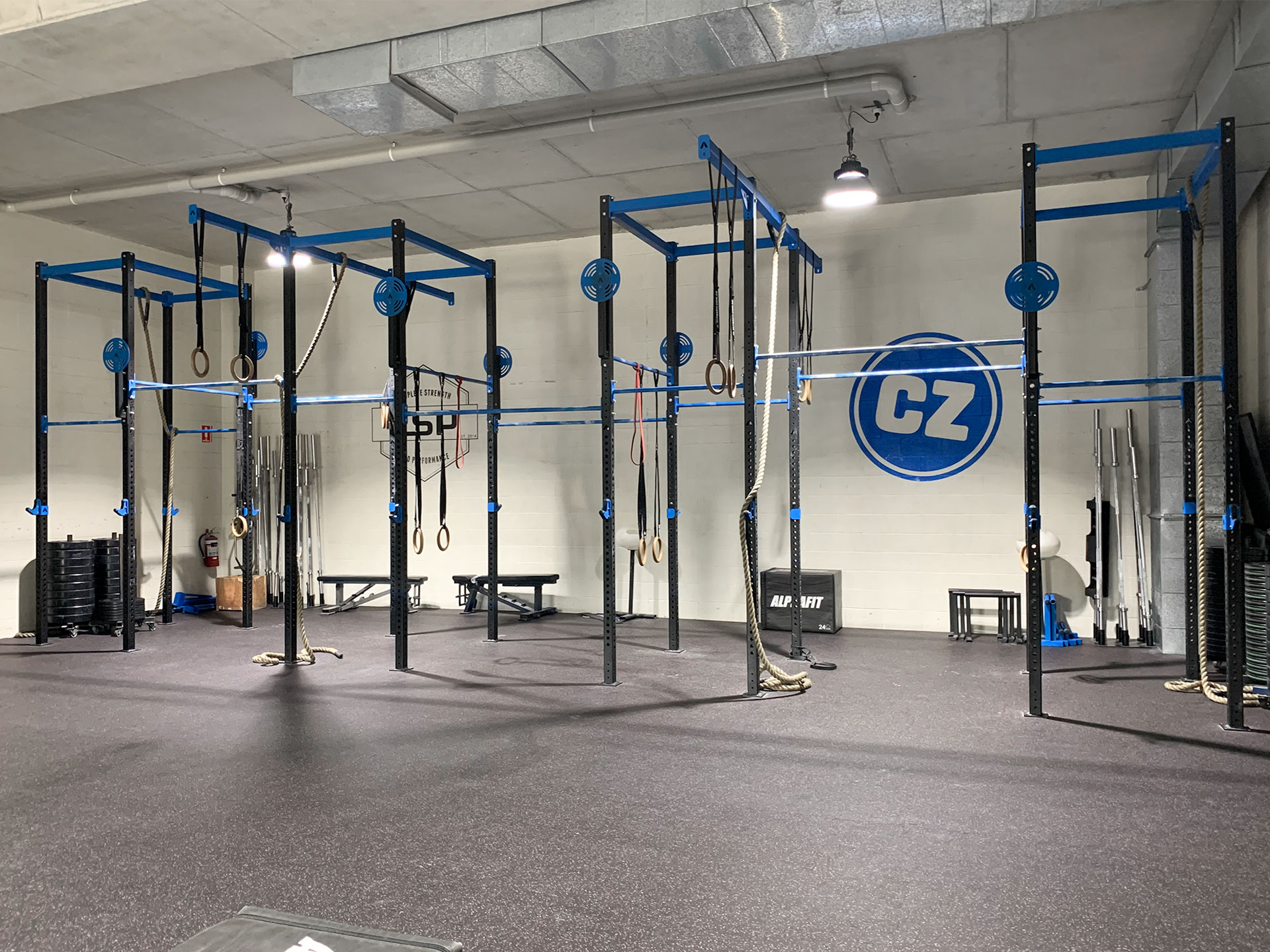 Complete Strength and Performance Gym Fitout