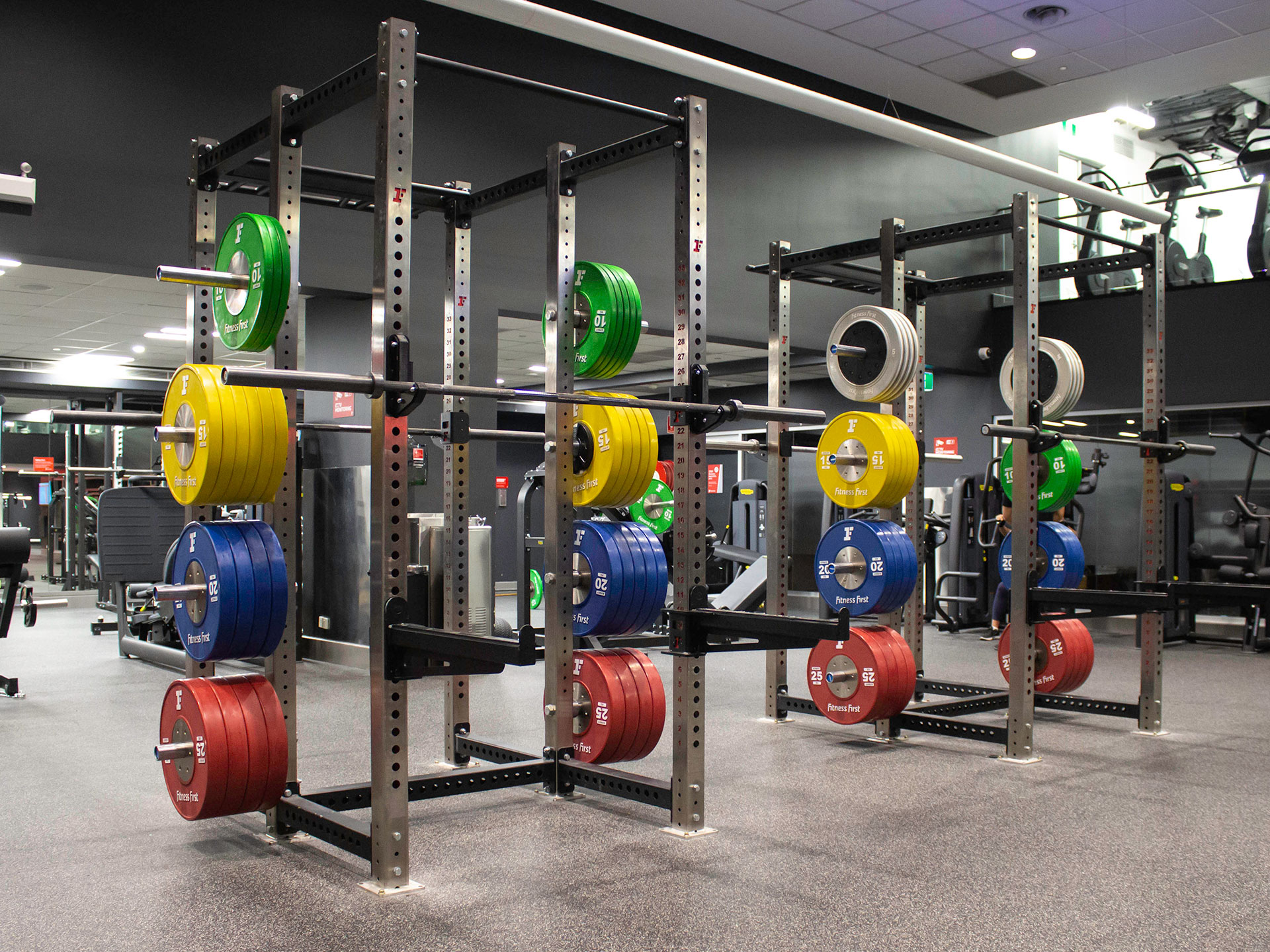 Fitness First Commercial Gym Fitout Pitt Street Platinum