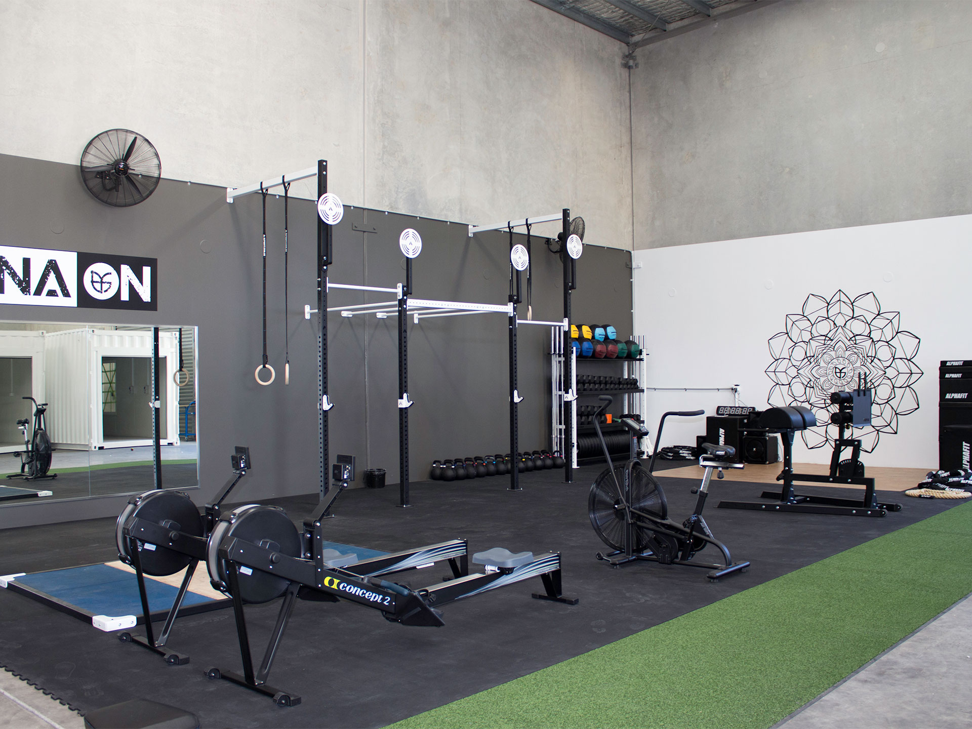 Prana ON Protein Gym Fitout