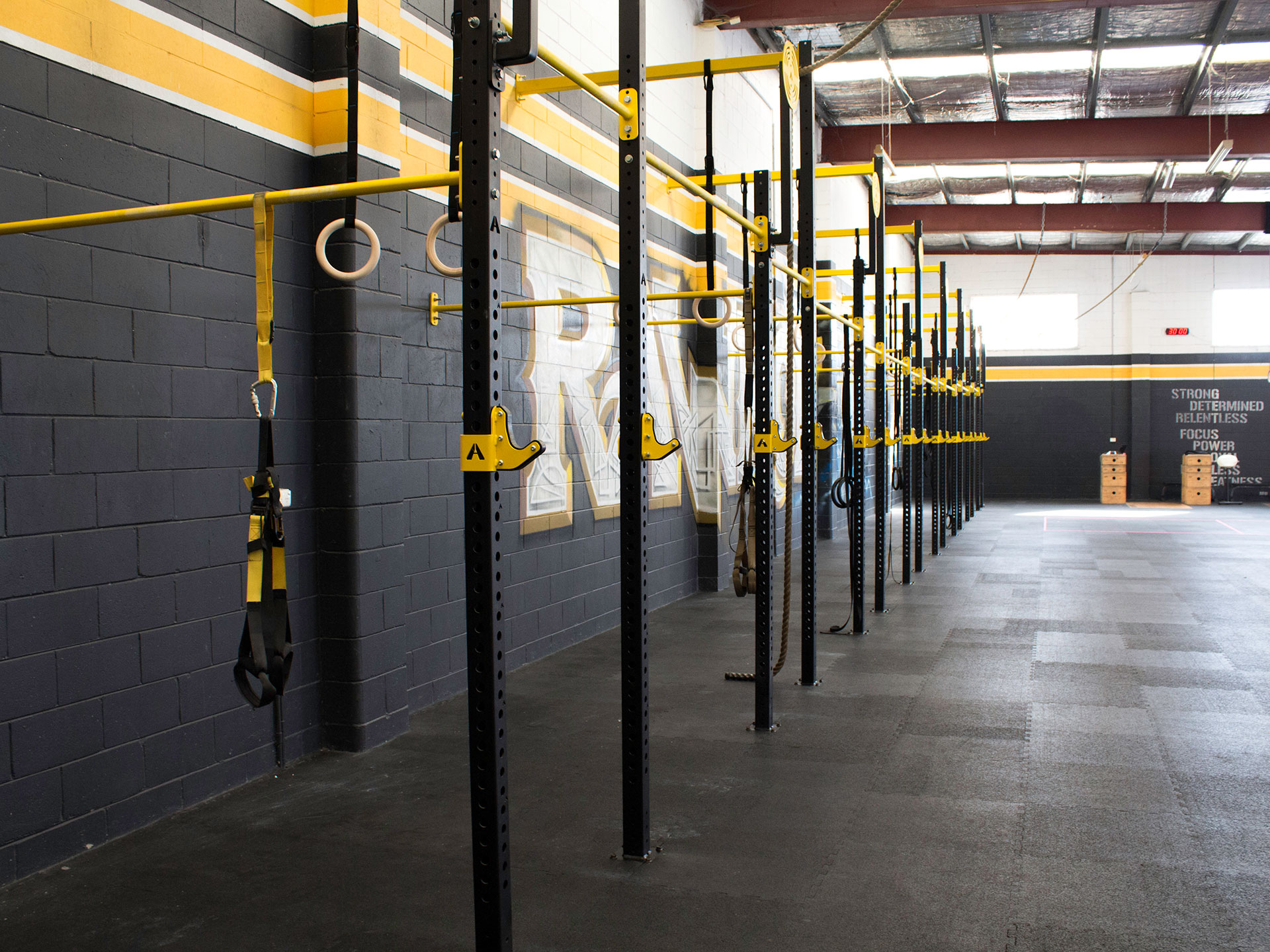 Raw Iron CrossFit Box Fitout