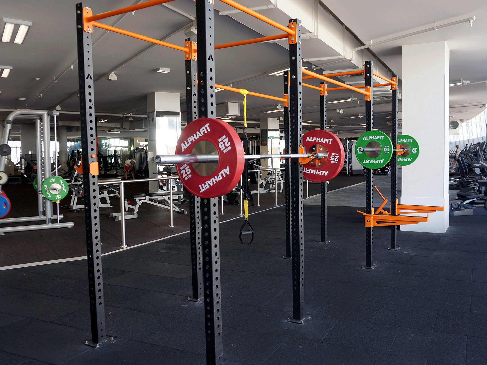 South Pacific Health Clubs Mentone Commercial Gym Fitout