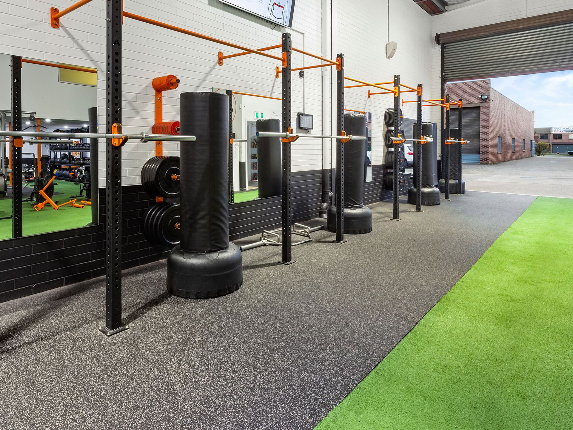 The Body Factory Functional Fitness Gym Fitout
