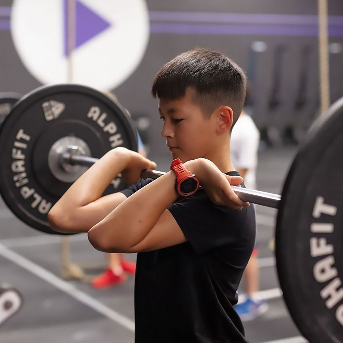 Technique Barbell - CrossFit Play Sydney. Photography by Adrian Fowler
