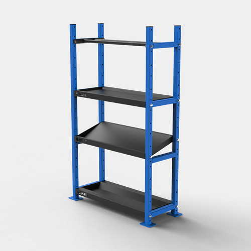 Evolve Storage System 1000mm 4 Tier Pack 2 - Blue